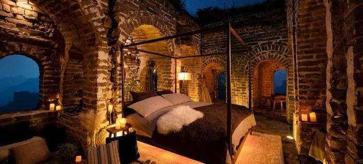 Ακυρώθηκε ο διαγωνισμός για το Σινικό Τείχος (Φωτογραφία: Airbnb)