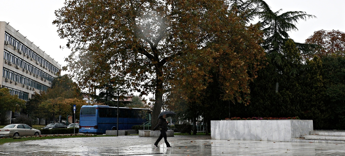 Στιγμιότυπο από τη βροχερή Αλεξανδρούπολη (Φωτογραφία: Alexandros Michailidis / SOOC)