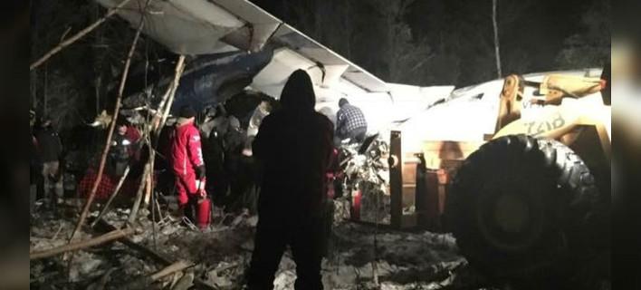 Συνετρίβη αεροσκάφος με 25 επιβαίνοντες στον Καναδά /Φωτογραφία: Raymond Sanger/Facebook