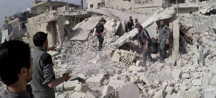 Εκκληση ΟΗΕ για διεθνή δράση στη Συρία -Από τις πιο αιματοβαμμένες, η περασμένη εβδομάδα /Φωτογραφία: ΑΡ