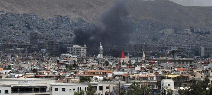 Βομβαρδισμοί στην Συρία/ Φωτογραφία: AP