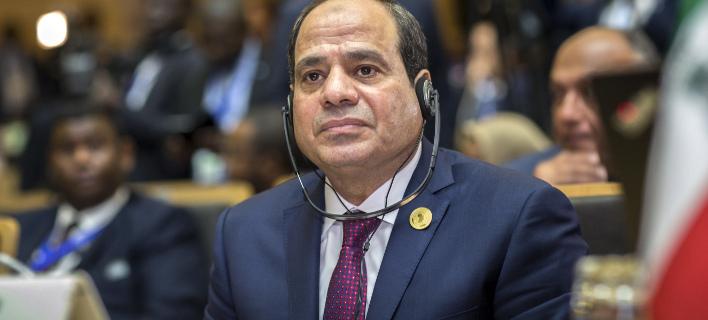 Ο Αμπντέλ Φατάχ αλ Σίσι (Φωτογραφία: AP/ Mulugeta Ayene)