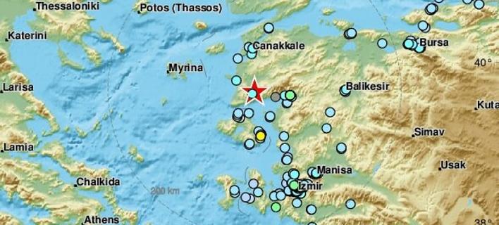 Σεισμός 4,9 ρίχτερ στην Τουρκία – Ταρακουνήθηκε και η  Λέσβος