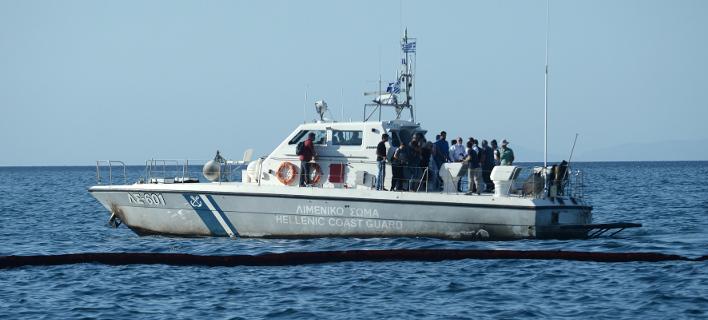 Με σκάφος του λιμενικού απεγκλωβίστηκαν τουρίστες /Φωτογραφία Αρχείου: Intime News