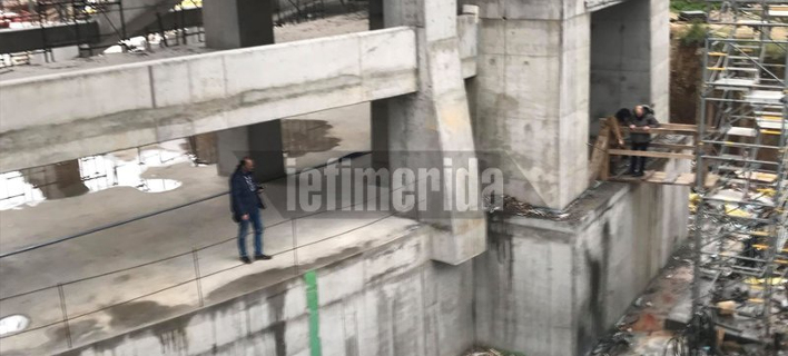 Νεκρός 55χρονος εργάτης που έπεσε από σκαλωσιά στο γήπεδο της ΑΕΚ [εικόνες]