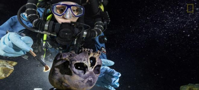 Ανθρώπινος σκελετός ηλικίας 12.000 ετών ανακαλύφθηκε στον βυθό του Μεξικού [εικό