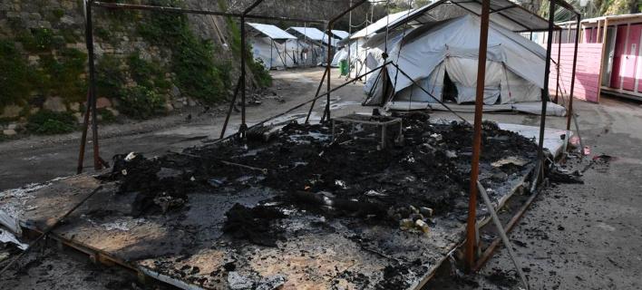 Xίος: Αφγανοί προσπάθησαν να κάψουν ζωντανούς Μαροκινούς [εικόνες & βίντεο]