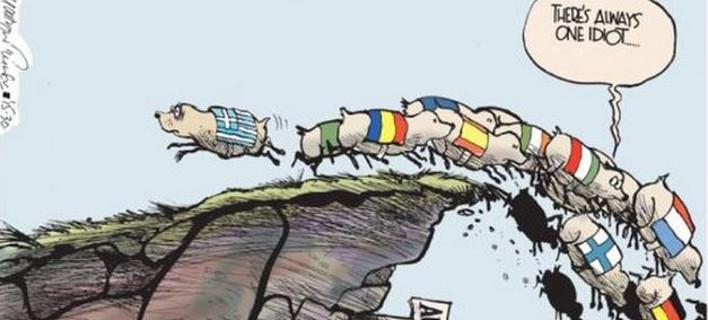 Η ευρωπαϊκή εμμονή στην λιτότητα και ο ρόλος της Ελλάδας μέσα από ένα σκίτσο