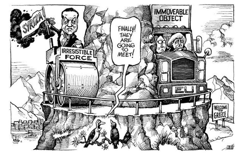 Σκίτσο του Economist για την Ελλάδα