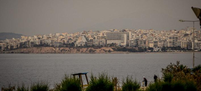 Αφρικανική σκόνη στην Αθήνα [εικόνες](Φωτογραφία: EUROKINISSI/ΓΙΑΝΝΗΣ ΠΑΝΑΓΟΠΟΥΛΟΣ)