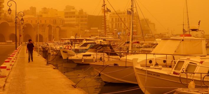 Επιστρέφει η αφρικανική σκόνη/Φωτογραφία: Eurokinissi