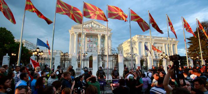 Επικίνδυνο πολιτικό αδιέξοδο στα Σκόπια