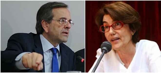 Γιατί τα έψαλλε ο Αντώνης Σαμαράς στην υφυπουργό Υγείας Φωτεινή Σκοπούλη
