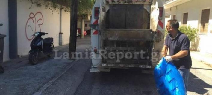 Συνέλαβαν τον αντιδήμαρχο Λαμίας γιατί οδηγούσε απορριμματοφόρο! [εικόνες]