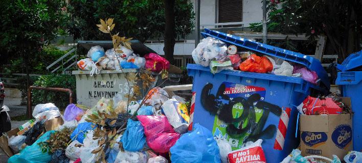 Κάδοι απορριμμάτων/Φωτογραφία: Eurokinissi