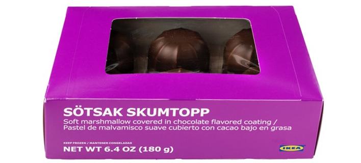 Η ΙΚΕΑ ανακαλεί προληπτικά το αφρώδες γλύκισμα (marshmallow) SÖTSAK SKUMTOPP