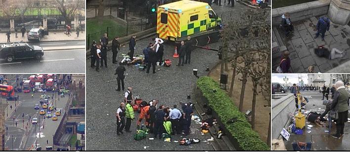 Τρομοκρατική επίθεση έξω από το βρετανικό Κοινοβούλιο: Φυγαδεύτηκε η Μέι