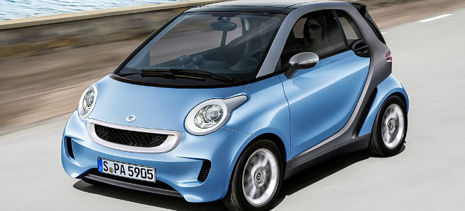 Νέο Smart Fortwo: Παρουσιάζεται το 2014 και χωρίς diesel