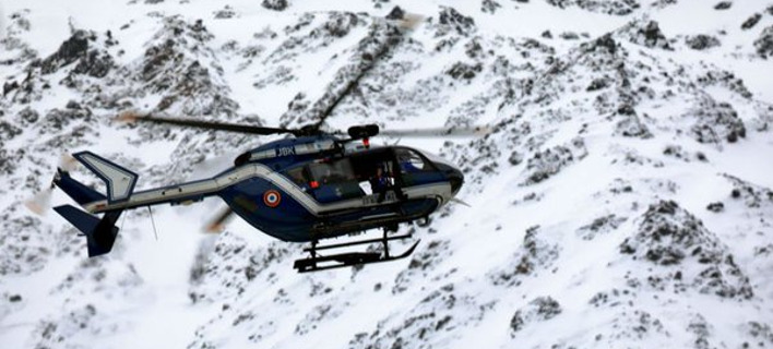 Τέσσερις νεκροί από χιονοστιβάδα στην νότια Γαλλία. Φωτογραφία: Twitter