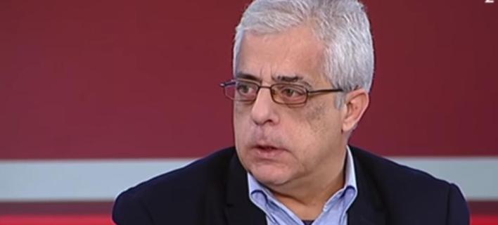 Ο Νίκος Σοφιανός, υποψήφιος του ΚΚΕ για τον δήμο της Αθήνας / Φωτογραφία: YouTube