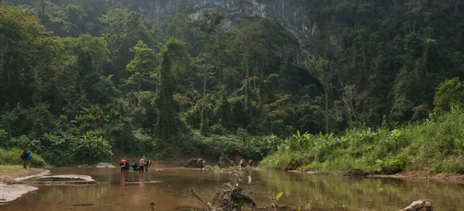 H μεγαλύτερη σπηλιά στον κόσμο με τη δική της ζούγκλα, ποτάμι και τεράστια μαργα