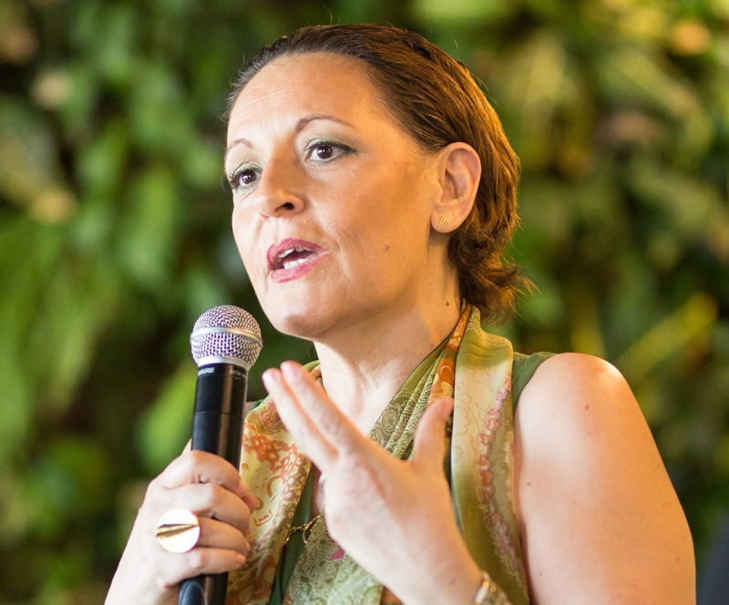 Η διευθύντρια ΕΠικοινωνίας της Bayer Ελλάς κ. Σόνια Μουσαβερέ