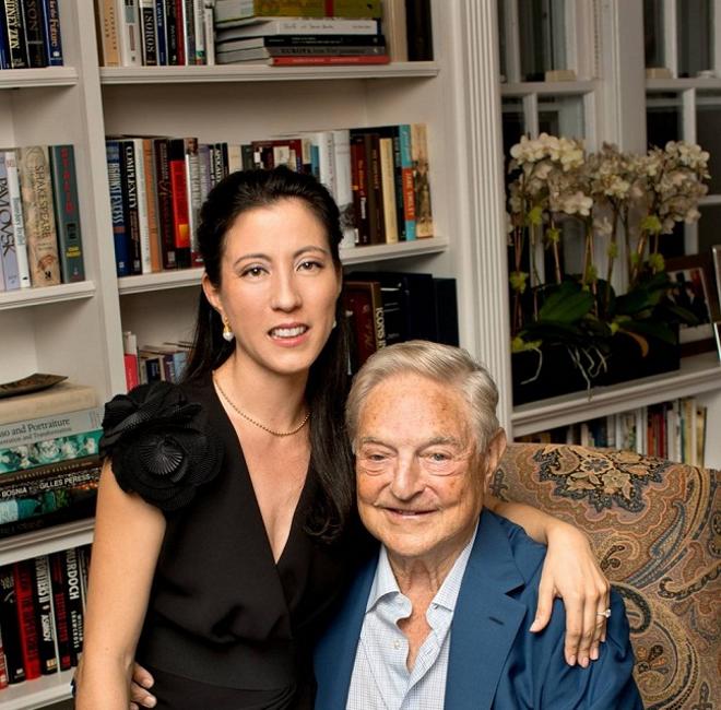 Ο (82χρονος) Τζορτζ Σόρος παντρεύεται τη (40χρονη) Ταμίκο Μπόλτον....