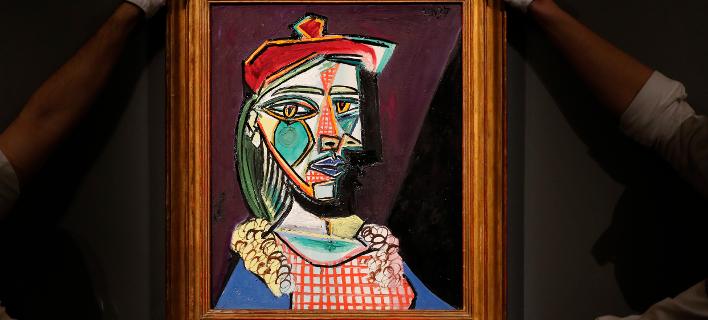 Ο πίνακας «Femme au Beret et la Robe Quadrillee