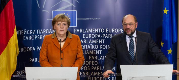 Δημοσκόπηση για το ARD: Σαφές προβάδισμα Σουλτς έναντι της Μέρκελ με 16 μονάδες