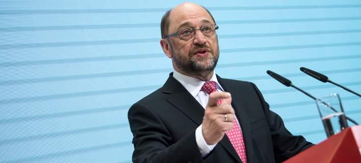 Γερμανία: Ο Μάρτιν Σουλτς δηλώνει ότι μπορεί να νικήσει τη Μέρκελ στις εκλογές