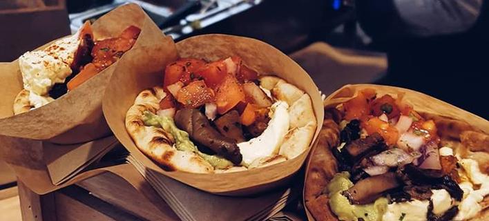 Σουβλάκια μανιταριών (Φωτογραφία: Cookoomela Grill)