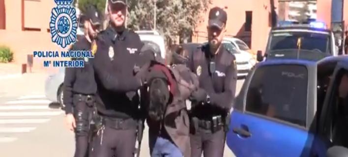 Ο δράστης στην Μαδρίτη/ Φωτογραφία: Twitter