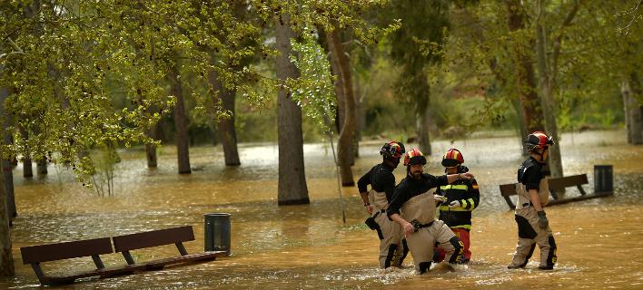 Τουλάχιστον 5 νεκροί από τις πλημμύρες/Φωτογραφία αρχέιου: AP