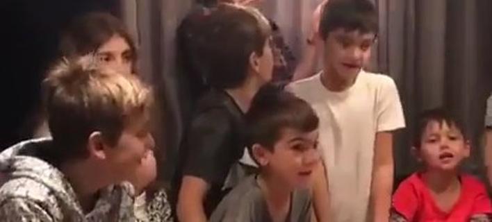 Οικογενειακές στιγμές για τον Σπανούλη -Τα γενέθλια του μεγάλου γιου του [βίντεο]