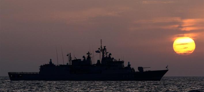 Φωτογραφία: Η φρεγάτα ΣΠΕΤΣΑΙ/hellenic navy