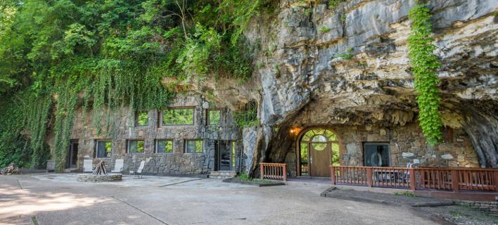 Το σπίτι-σπηλιά στο Αρκανσας (Φωτογραφία: arkansasdiamondrealty)