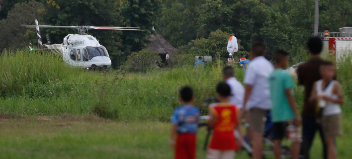 από την επιχείρηση διάσωσης/Φωτογραφία: AP
