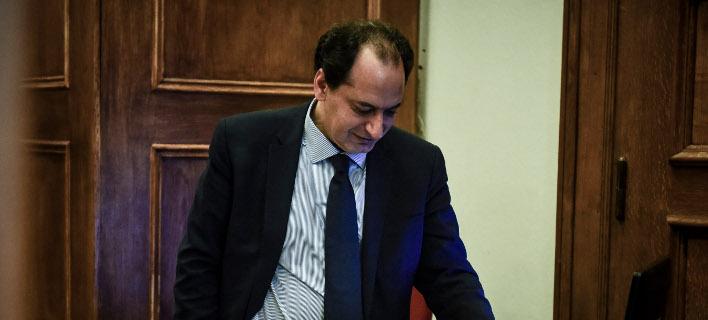 Ο υπουργός Μεταφορών Χρήστος Σπίρτζης/Φωτογραφία: Eurokinissi