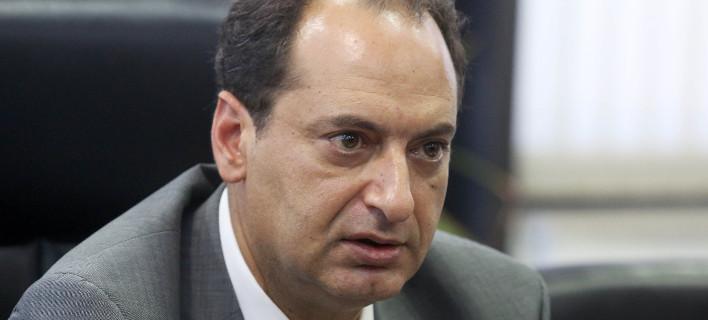 Ο υπουργός Μεταφορών Χρήστος Σπίρτζης/Φωτογραφία: ΤΡΥΨΑΝΗ ΦΑΝΗ/Eurokinissi