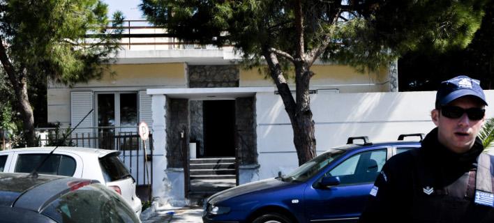 το σπίτι του εγκλήματος στο Ελληνικό/Φωτογραφία: Eurokinissi