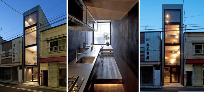 Ιδιαίτερο: Σπίτι πλάτους μόλις 2,5 μέτρων γίνεται υπόδειγμα -Βολικό και ντιζαϊνάτο [εικόνες]