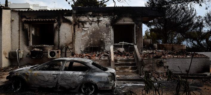 Οι πρώτες εκτιμήσεις για τις ζημιές που προκάλεσαν οι πυρκαγιές / EUROKINISSI / ΤΑΤΙΑΝΑ ΜΠΟΛΑΡΗ