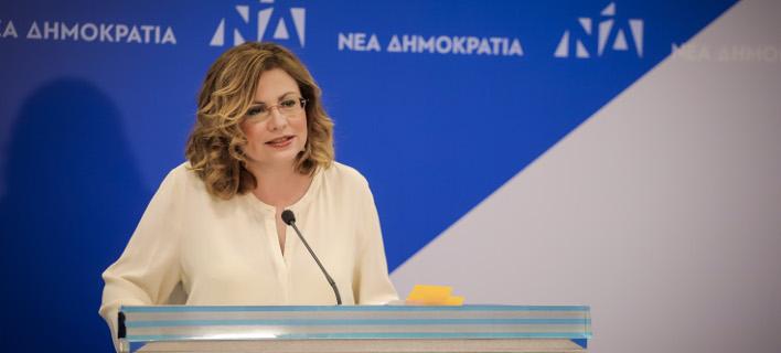 Η Μαρία Σπυράκη / Φωτογραφία: Eurokinissi