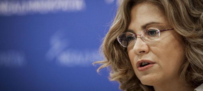 Η Μαρία Σπυράκη (Φωτογραφία: EUROKINISSI/ΓΙΑΝΝΗΣ ΠΑΝΑΓΟΠΟΥΛΟΣ)