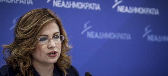 Η Μαρία Σπυράκη (Φωτογραφία: EUROKINISSI/ΓΙΩΡΓΟΣ ΚΟΝΤΑΡΙΝΗΣ)