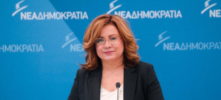 Η εκπρόσωπος Τύπου της ΝΔ, Μαρία Σπυράκη -Φωτογραφία: Intimenews/ΣΤΕΦΑΝΟΥ ΣΤΕΛΙΟΣ