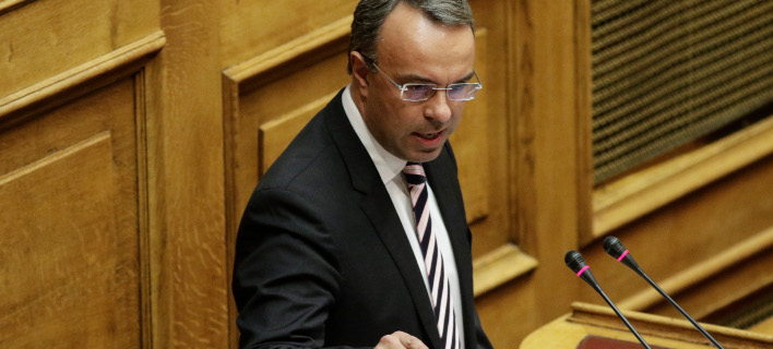 Χρήστος Σταϊκούρας (Φωτογραφία: ΓΙΑΝΝΗΣ ΠΑΝΑΓΟΠΟΥΛΟΣ/ EUROKINISSI)