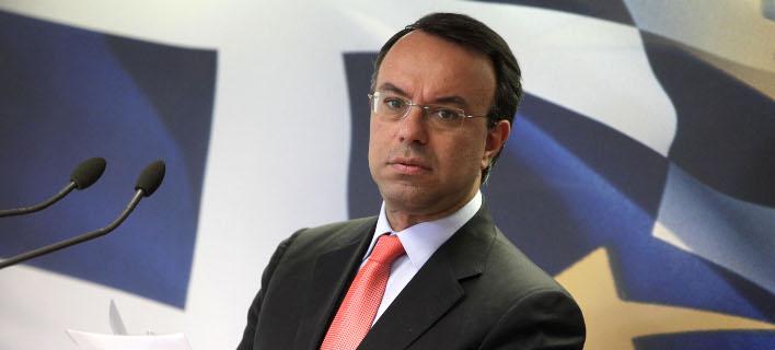 Ο τομεάρχης οικονομικών της ΝΔ, Χρήστος Σταϊκούρας/Φωτογραφία: Eurokinissi