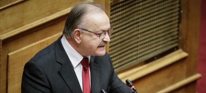 Ο βουλευτής Επικρατείας της ΝΔ Δημήτρης Σταμάτης -Φωτογραφία: EUROKINISSI/ ΓΙΑΝΝΗΣ ΠΑΝΑΓΟΠΟΥΛΟΣ
