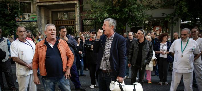 διαμαρτυρία ΠΟΕΔΗΝ/Φωτογραφία: Eurokinissi